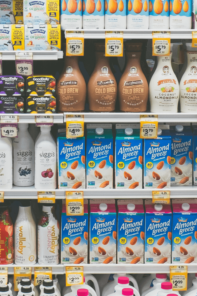Use case: New target repositioning - dairy product